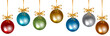 colorful baubles - 72894021