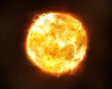 Fototapety Bright sun