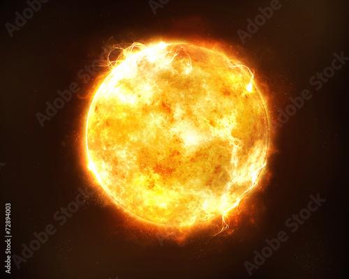 Bright sun - 72894003