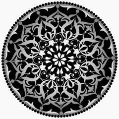 Göbek desen (gümüş)