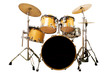 Leinwanddruck Bild - drum kit