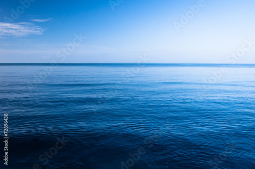 Foto op Canvas Strand Blue Ocean
