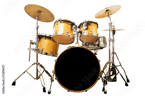 Foto op Canvas Muziekwinkel drum kit
