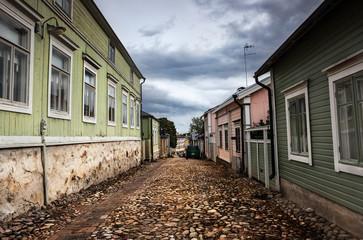 Streets of Porvoo, Finland