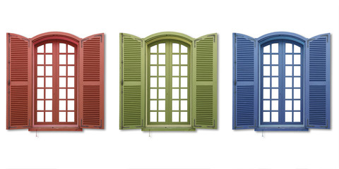 red green blue windows