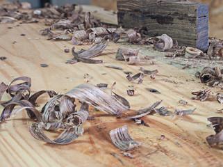 Slide wood.
