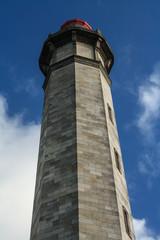 Gros plan du phare de l'île de Ré