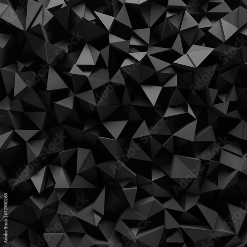 Displaced 3d triangular background