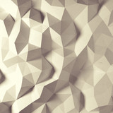Fototapety Abstract vintage faceted geometric paper background