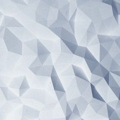 Abstract faceted paper background