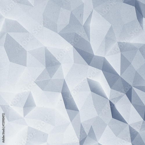 Fotobehang 3d Achtergrond Abstract faceted paper background