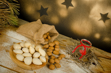 Almond Christmas sweet