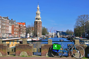 Waterfront in Amsterdam