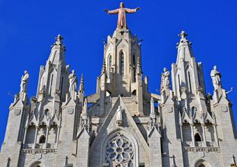 Facade of Barcelona church