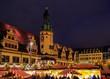 Leinwanddruck Bild - Leipzig Weihnachtsmarkt - Leipzig christmas market 06