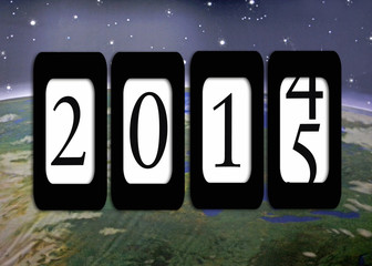 odometer for new year 2015