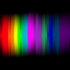 Abstract lights with colorful background