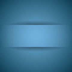 Abstract paper with shadow background