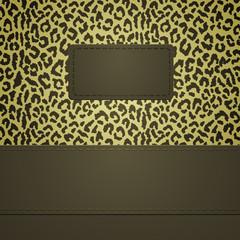 leopard spots  banner