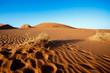 Leinwandbild Motiv sand dunes at Sossusvlei, Namibia