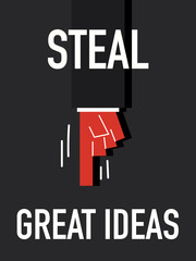 Word STEAL GREAT IDEAS