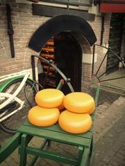 Rivendita di formaggi tipici olandesi