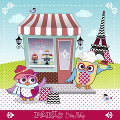 Paris Bake shop
