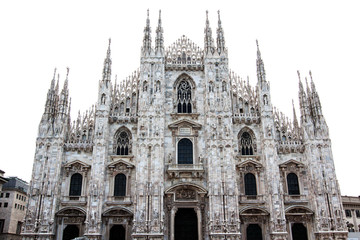 Dome of Milan, Italy