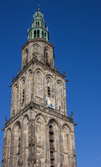 Tower of the Martini church in Groningen
