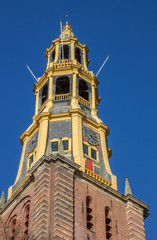 Tower of the A church in Groningen