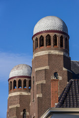 Tower of the synagogue of Groningen