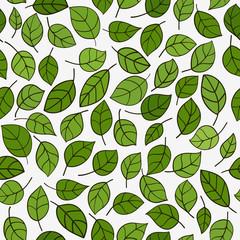 Seamless pattern leafs