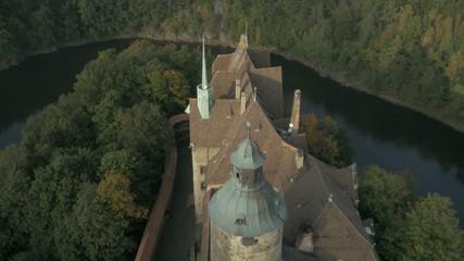 Antique castle