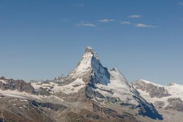Zermatt, Dorf, Alpen, Walliser Berge, Trockener Steg, Schweiz