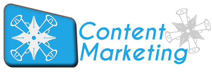 Content Marketing With Symbol