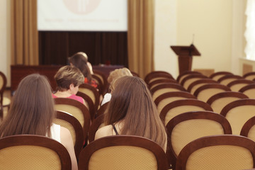 Rewarding young professionals in the administration of Vologda