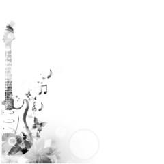 Elegant guitar design