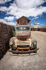 Rusty old truck, Uyuni, Bolivia