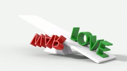 Amore vince contro la guerra