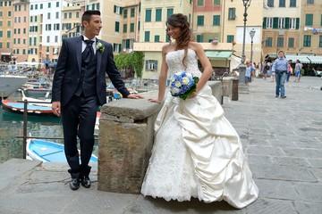 Sposi a Camogli