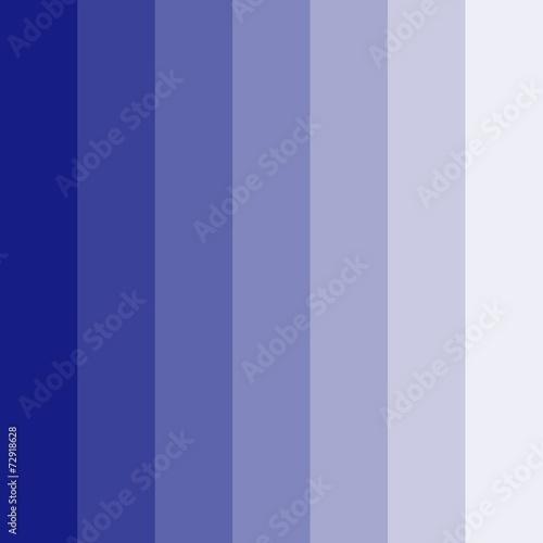 canvas print picture Blauer Hintergrund mit heller werdenden Farbstreifen