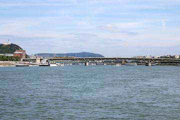 bridge on Danube river Budapest