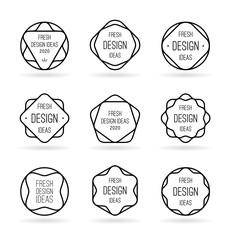 Geometric templates for your ideas (1)