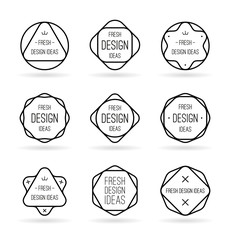Geometric templates for your ideas (2)