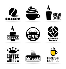 Set of Coffee Icons (3)