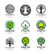 Obrazy na płótnie, fototapety, zdjęcia, fotoobrazy drukowane : Set of trees (5)