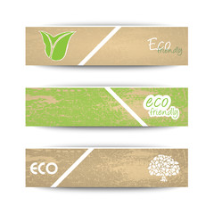 Ecology banners