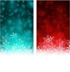 Christmas abstract banners.