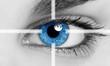 Leinwanddruck Bild - Eye close-up