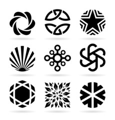 Collection of abstract symbols (22)